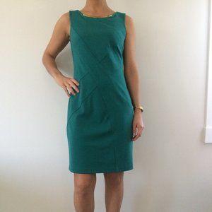 Calvin Klein Dress Size 6 Green